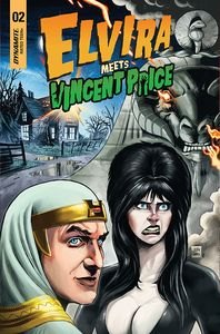 [Elvira Meets Vincent Price #2 (Cover B Samu) (Product Image)]