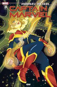 [Marvel Action: Captain Marvel #3 (Nicole Goux Variant) (Product Image)]
