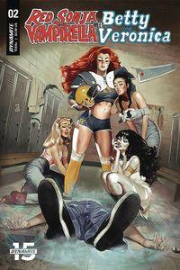 [Red Sonja & Vampirella Meet Betty & Veronica #2 (Cover A Dalton) (Product Image)]