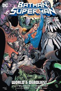 [Batman/Superman: Volume 2: Worlds Deadliest (Hardcover) (Product Image)]
