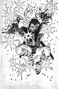 [Fire Power #12 (Cover N Frank Miller Black & White Variant) (Product Image)]