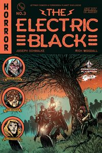 [Electric Black #3 (Forbidden Planet Exclusive Variant Signed Edition) (Product Image)]