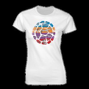 [Teenage Mutant Ninja Turtles: Women's Fit T-Shirt: Band Colours (Product Image)]