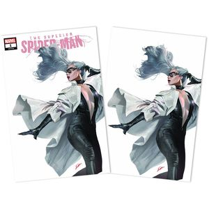 [Superior Spider-Man #1 (Lozano Black Cat Virgin Variant Set) (Product Image)]