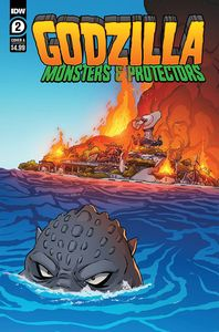 [Godzilla: Monsters & Protectors #2 (Cover A Dan Schoening) (Product Image)]