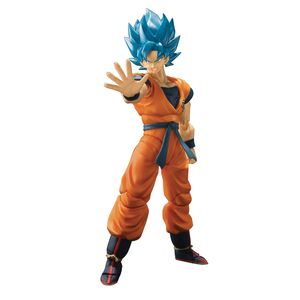 [Dragon Ball Super: Broly: SH Figuarts Figure: Super Saiyan God Super Saiyan Son Goku (Product Image)]