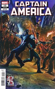 [Captain America #12 (Tedesco Marvels 25th Tribute Variant) (Product Image)]