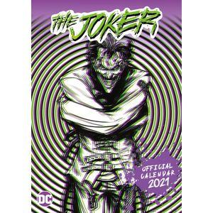 [DC: Joker A3 2021 Calendar (Product Image)]