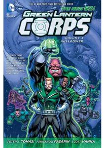 [Green Lantern Corps: Volume 3: Willpower (Hardcover) (Product Image)]