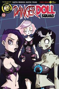 [Danger Doll Squad #1 (Cover C Mendoza) (Product Image)]