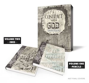 [Will Eisner: Contract With God: Curator's Collection (Limited Edition - Hardcover) (Product Image)]