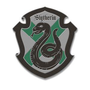 [Harry Potter: Patch: Slytherin House Crest (Product Image)]