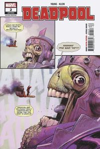 [Deadpool #2 (2nd Printing - Klein Variant) (Product Image)]