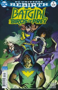 [Batgirl & The Birds Of Prey #11 (Variant Edition) (Product Image)]