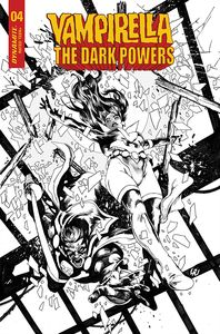 [Vampirella: Dark Powers #4 (Lau Black & White Variant) (Product Image)]