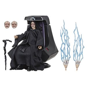 [Star Wars: Black Series Action Figure: Emperor Palpatine With Throne (Product Image)]