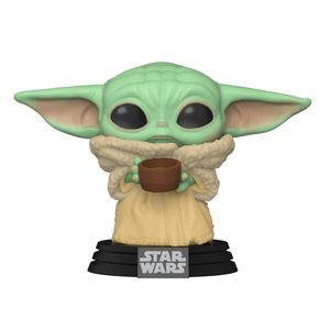 [Star Wars: The Mandalorian: Pop! Vinyl Bobblehead: The Child With Cup (Product Image)]