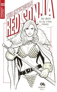 [Invincible Red Sonja #3 (Cover D Cho) (Product Image)]