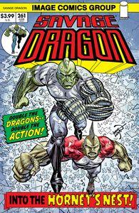 [Savage Dragon #261 (Cover B Retro 70s Trade Dress) (Product Image)]