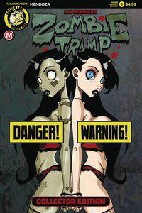 [Zombie Tramp Origins #1 (Cover B Mendoza Risque) (Product Image)]
