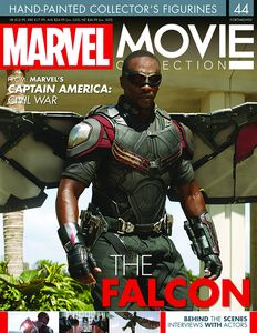 [Marvel: Movie Figure Collection Magazine #44 Falcon (Product Image)]