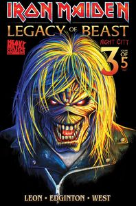 [Iron Maiden: Legacy Of The Beast: Volume 2: Night City #3 (Cover B Akirant) (Product Image)]