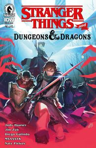[Stranger Things: D&D Crossover #3 (Cover C Infante) (Product Image)]