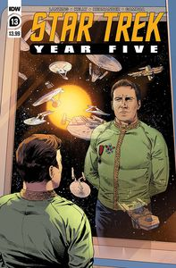 [Star Trek: Year Five #13 (Cover A Thompson) (Product Image)]