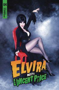 [Elvira Meets Vincent Price #4 (Cover D Photo) (Product Image)]