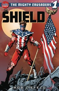 [Mighty Crusaders: The Shield (Cover C Aaron Lopresti) (One Shot) (Product Image)]