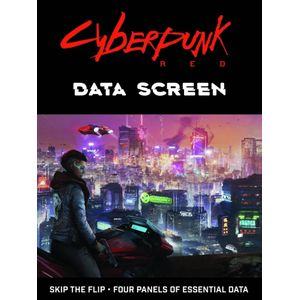 [Cyberpunk: Red: Data Screen (Product Image)]