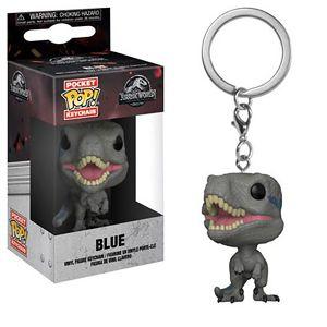 [Jurassic World: Fallen Kingdom: Pocket Pop! Vinyl Keychain: Blue (Product Image)]