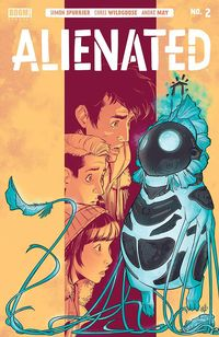 [The cover for Alienated #2]