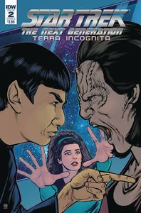 [Star Trek: The Next Generation: Terra Incognita #2 (Cover A Shasteen) (Product Image)]