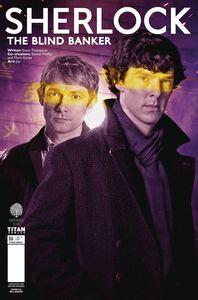 [Sherlock: Blind Banker #6 (Cover B Brooks) (Product Image)]