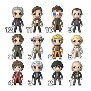 [Doctor Who: Kawaii TITANS: The Doctors (Product Image)]