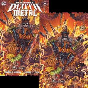 [Dark Nights: Death Metal #6 (Jonboy Meyers Sword & Virgin Skull Variant Set) (Product Image)]