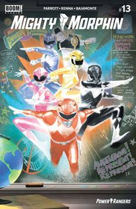 [Mighty Morphin #13 (Cover F Foc Reveal Variant Del Mundo) (Product Image)]