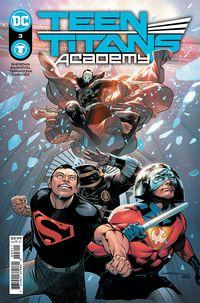[The cover for Teen Titans Academy #3 (Cover A Rafa Sandoval)]