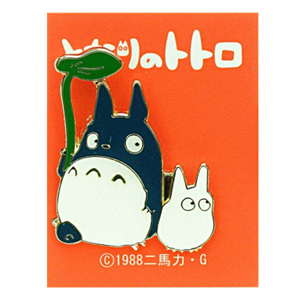 [My Neighbour Totoro: Pin Badge: Big & Middle Totoro (Product Image)]