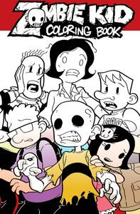[Zombie Kid Diaries: Coloring Book (Product Image)]