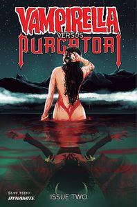 [Vampirella Vs Purgatori #2 (Premium Maine Variant) (Product Image)]