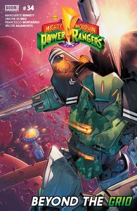 [Mighty Morphin Power Rangers #34 (Main Sg) (Product Image)]
