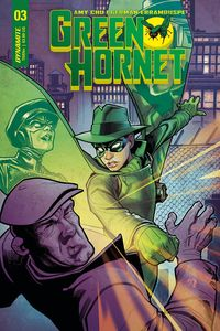 [Green Hornet #3 (Cover B Roux) (Product Image)]