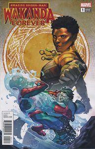[Wakanda Forever: Amazing Spider-Man #1 (Connecting Variant) (Product Image)]