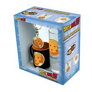 [Dragon Ball: Glass, Keyring & Mini Mug Giftbox (Product Image)]