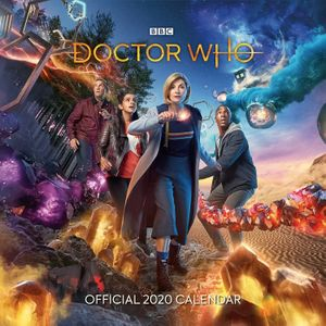 [Doctor Who: The 13th Doctor: Square Calendar: 2020 (Product Image)]