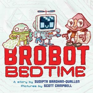 [Brobot Bedtime (Hardcover) (Product Image)]