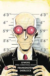 [Sherlock Frankenstein & Legion Of Evil #4 (Lemire Variant) (Product Image)]