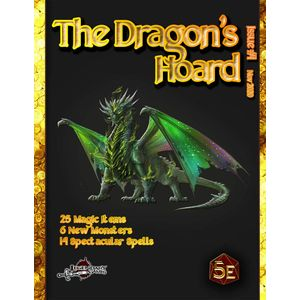 [The Dragon's Hoard: Issue #1 (5th Edition Compatible) (Product Image)]